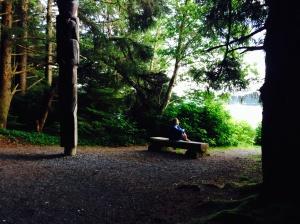 Waiting. Alaska, July 2014