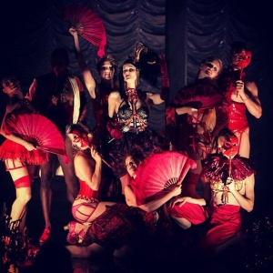 The opening number of our latest show, Rococo Rouge.