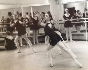 Les Sylphides in repertoire class, age 16.