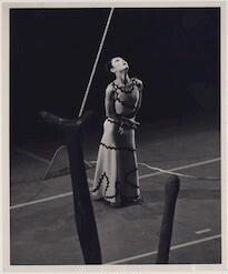 Yuriko Kimura in Martha Graham's Errand Into The Maze, based on the Greek legend of the Minotaur